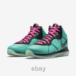Nike Lebron 8 South Beach 2021 7 15 SIZE RANGE 2021