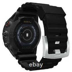 North Edge Range 5 Diving Smart Watch for Explore Outdoor Sports (Black Edition)