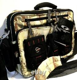 OAKLEY AP TACTICAL FIELD GEAR LAPTOP BAG Khaki Tiger Camo Range Messenger Pack