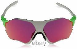 Oakley FOR MEN OR WOMEN (A) Evzero Range Green Feld/Chrome Iridum Sunglasses