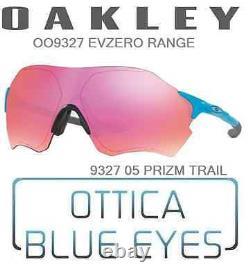 Occhiali da Sole OAKLEY EVZERO RANGE 9327 05 PRIZM TRAIL Sunglasses sport BIKE