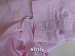Orlebar Brown 007 shirt XXL James Bond range rose pink cotton MENS new