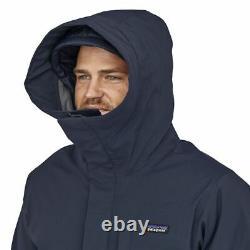 Patagonia Men's Frozen Range 3-in-1 Parka Super Warm Winter Down Coat Jacket BL