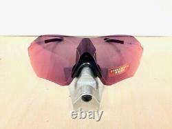 Prizm Oakley EV Zero Range Sunglasses Matte White Prizm Road OO9327-1038