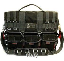 RARE OAKLEY TACTICAL FIELD GEAR RANGE LAPTOP BAG Black AP Messenger Day Pack