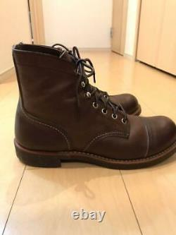 RED WING Iron Range 8111 size US 7.5D USED good condition japan shipping