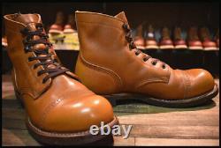 REDWING 8011 Iron Range Manson Boots White Ash Settler 8 1/2 D japan shipping