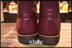 REDWING 8012 Iron Range Manson Boots Burgundy Settler 10 D japan first shipping