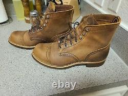 Red Wing Heritage8085 Iron Range Copper Rough & Tough MADE IN USA Men's 8E2
