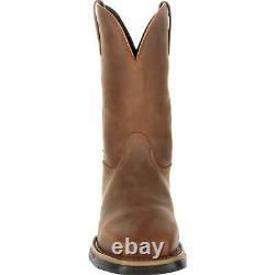 Rocky Long Range Steel Toe Waterproof Western Boot