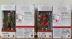 Star Wars Black Series Holiday Set4 Sith Range Clone Snow Trooper Christmas NEW