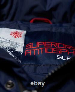 Superdry Mens Canadian Mountain Range Down Parka Jacket