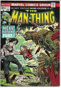 The Man-thing #2 3 4 5 6 7 8 9 10 11 12 13 14 15 Vg To Fn Range Marvel Comics