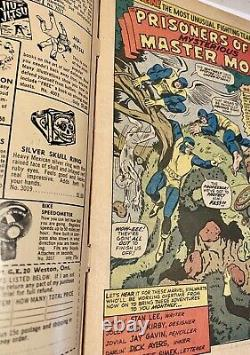 The X-MEN # 15-FIRST Appearance MASTER MOLD-3.5-4.5 Range. Great Copy