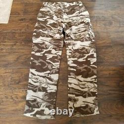 Thick Warm Columbia Wool PHG Gallatin Range Camo Camouflage Hunting Pants Sz. 34