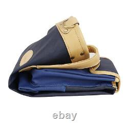 Tourbon Golf Clubs Bag Sunday Round Pack Ball Carry Case Travel Range Bag Blue