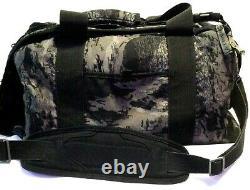 ULTRA RARE OAKLEY DUFFEL BAG Black Grey Camo Print Tactical Range Gear Day Pack