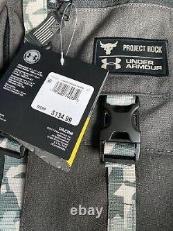 UNDER ARMOUR PROJECT ROCK REGIMENT RANGE BACKPACK STORM 1315435-001 New