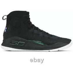 Under Armour Mens Curry 4 More Range Basketball Shoes Size 11 1298306-014