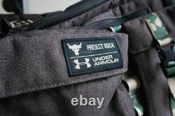 Under Armour Project Rock USDNA Camo Range Duffle Bag Limited Edition