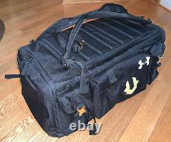 Under Armour Storm Undeniable Cordura Range 53L Duffle Bag Black NEW $160