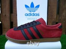 VINTAGE Adidas LONDON 2019 80 s casuals CITIES RANGE OG COLOURWAY BOXED UK7.5
