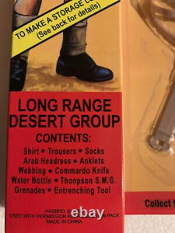 Vintage Action Man Long Range Desert Group 40th Anniversary Carded