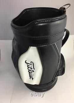 Vintage TITLEIST Den Caddy Golf Bag Range Ball Holder Tote Carry Made in USA