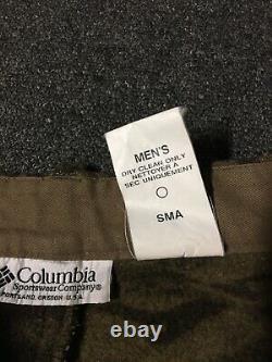 Vtg Columbia Wool Gallatin Range Cargo Camo Hunting Pants 40/28 PHG Outdoors 90s