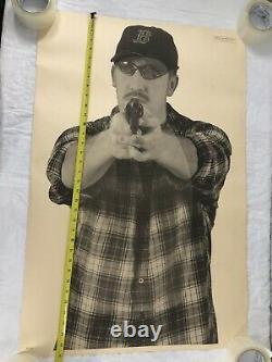 Vtg Shooting Range Target American Paper Poster 80s Boston Red Sox Man Cave