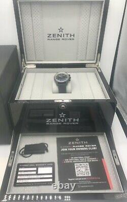 Zenith Chronomaster El Primero Range Rover Special Edition 42mm Ceramic Grey