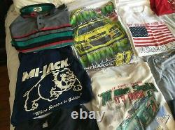 19 Lot Vintage Graphic T Shirt Bundle Hommes Gamme Hommes S 3xl Lot 80's 90's Y2k