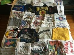 29 Lot Vintage Graphic T Shirt Bundle Men Range S 3xl Lot 80's 90's Y2k