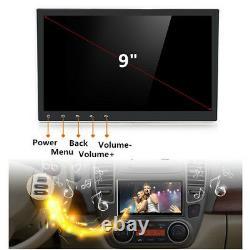 9 2din Voiture Stéréo Radio Gps Wifi 3g 4g Tv Lte Bt Dab Mirror Link Obd Mains Libres