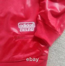 Adidas Originals Range Chile62 De 2010 Wet Look Tracksuit Top Veste