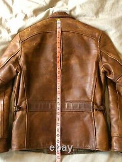 Aero Leather Premier Range Half Belt Fqhh Horsehide 36 Petite Veste