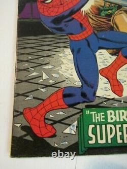 Amazing Spider-man #42 1ère Mary Jane Romita 2ème Rhino Fine+ Gamme Silver Clé D'âge
