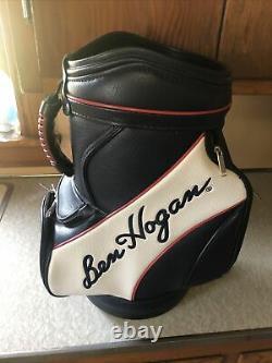 Ben Hogan Sac De Golf En Cuir Émaillé. Sympa. Cave De L'homme. Le Champ De Conduite. 20x14x10