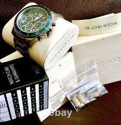 Boxed Gents Nouveau Haut De Gamme Rjr John Rocha Designer Watch & Original Papers
