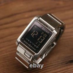 Casio I-range Irw-100 Tough Solar Wave Ceptor Digital Watch Argent
