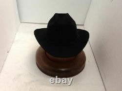 Chapeau De Cowboy Stetson 6x Beaver Four Noir Range Avec Brosse De Chapeau Gratuit