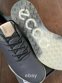 Chaussures De Golf Ecco S-trois Goretex Taille 9 Prix De Vente Conseillé £180 Worn Once At The Range Mint Con