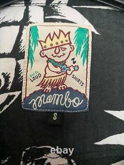 Chemise Mambo Pas Si Loud Chemises Range Ananas Crânes Taille Petite Rare