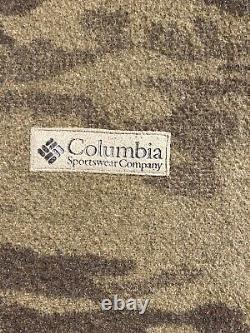 Columbia Gamme De Gallatine Laine Lourde Camo Veste De Chasse À Capuche Camo XL Guc