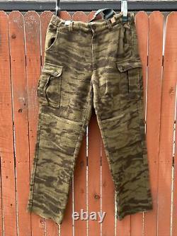 Columbia Hommes Sz 40x36 Gallatin Range Laine Camo Cargo Pantalons Hm8040