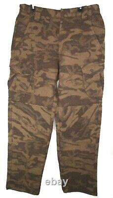 Columbia Wool Blend Phg Camo Pants Gallatin Range Monarch Pass Taille 34w