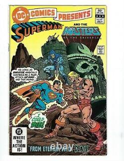 DC Comics Présente #47 (vg Range) 1ère Apparition De L'homme Et Du Skeletor