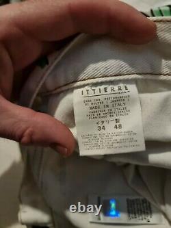 Dolce Et Gabbana Jeans Peints À La Main Ittierre Range Vintage Classique Homme/femme
