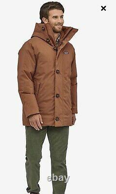 Gamme Frozen Nouveau Patagonia Men Parka (taille Xl, Couleur Sisu Brown) Pdsf 699 $