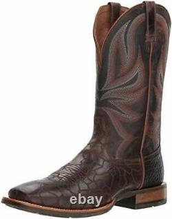 Gamme Patron Western Boot Choisissez Sz / Couleur Ariat Hommes